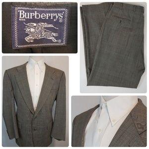 Burberry Prorsum Men's Glen Plaid Suit 42R 38x32